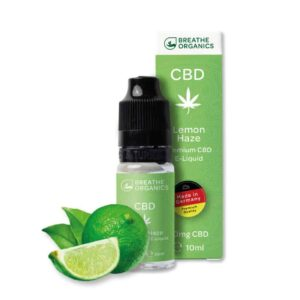 Premium CBD E-Liquid Breathe Organics Lemon Haze
