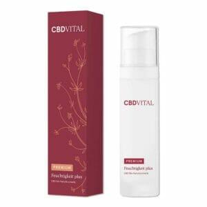 Feuchtigkeit plus CBD Serum von CBD Vital