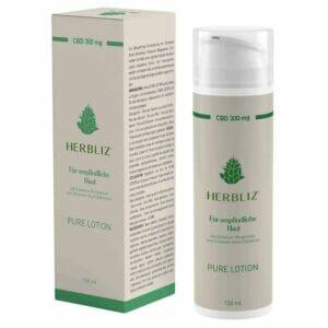 Bio-Naturkosmetik Herbliz Pure Lotion 300 mg CBD
