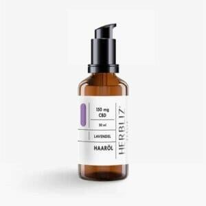Herbliz Lavendel CBD Haaröl mit 150mg CBD