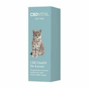 natürliches Hanföl mit CDB für Katzen Terpenfrei