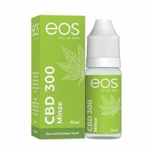 Minze 300 mg CBD E-Liquid von eos aus natürlichem Hanf