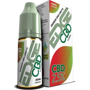 250 mg CBD E-Liquid Erdbeer-Limette von Edge