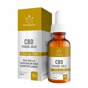 Bio 10% CBD Öl Tropen Vitadol Gold online kaufen