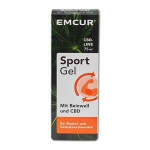 Emcur Sport Gel mit Beinwell und CBD